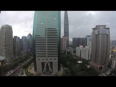 Typhoon Hato - Shenzhen Luohu Timelapse