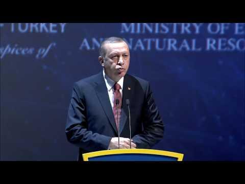 Recep Tayyip Erdoğan, President of Turkey/ Day1, World Energy Congress 2016