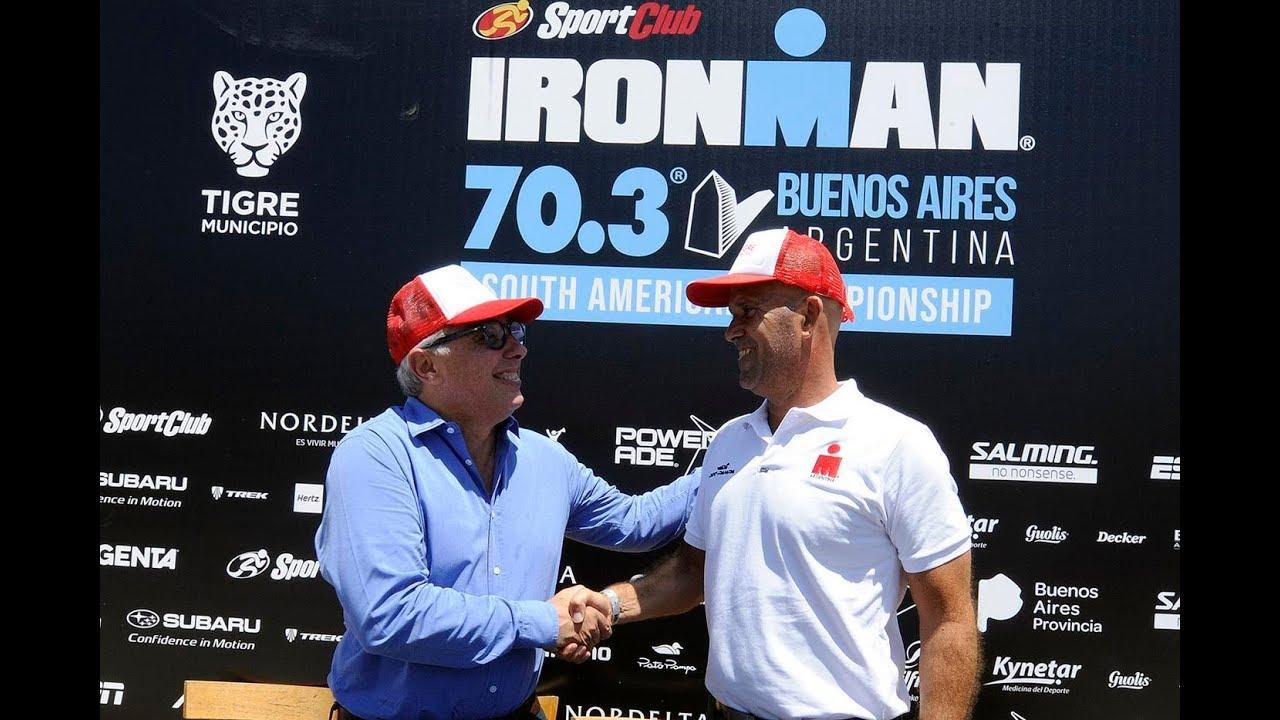 Por Tercer Ao Consecutivo Tigre Fue Elegido Como Sede Del Ironman Para El Circuito 703 Noticias De La Ciudad Buenos Aires