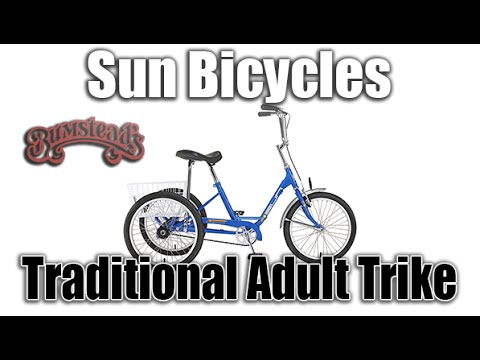 Sun Bicycles' Traditional Adult Tricycle Gives You Freedom AND Stability