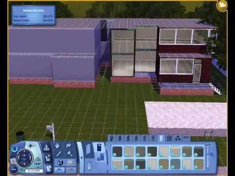 The Sims 3: come costruire una casa moderna (villetta ...