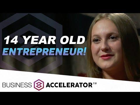 14 YEAR OLD ENTREPRENEUR! - Marissa Ingram, London Real Business Accelerator Graduate   London Real