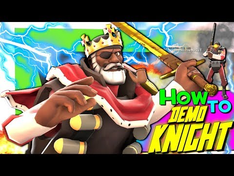 TF2: How to Demoknight [Epic WIN]