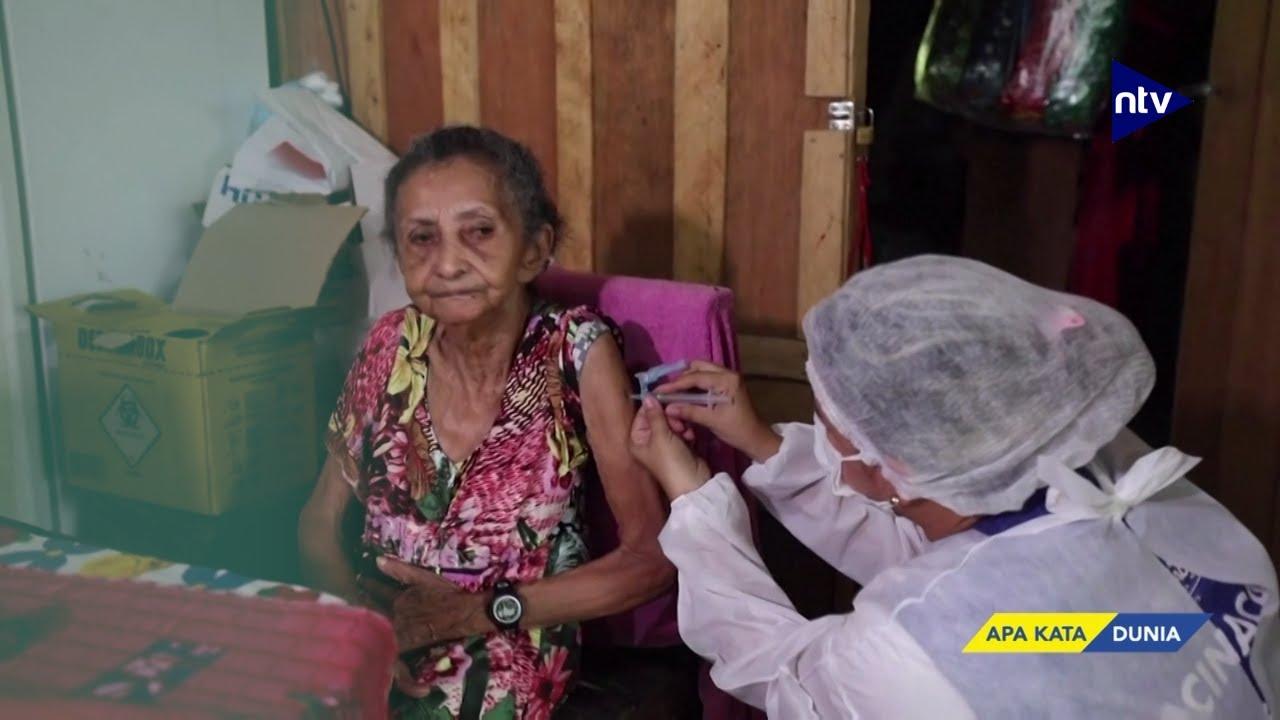 Terpengaruh Hoaks, Suku Asli Brasil Tolak Divaksin