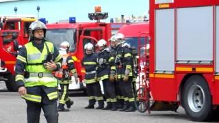 Manoeuvre Incendie Sapeurs-Pompiers de Barr part.1