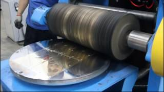 connectYoutube - sheet metal mirror polishing machine with rotary table