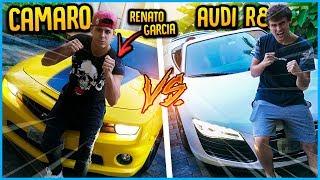 MEU AUDI R8 VS CAMARO !! ( REZENDE VS RENATO GARCIA ) [ REZENDE EVIL ]