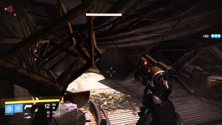 Destiny Earth Bunker RAS-2 Intrusion Ghost