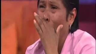 Laura bozzo cachetea a panelista