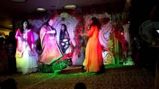 Sangeet performance on BOLE CHUDIYA | AKHIYAN MILAON | MERA MAN#easy elegant sassy choreography