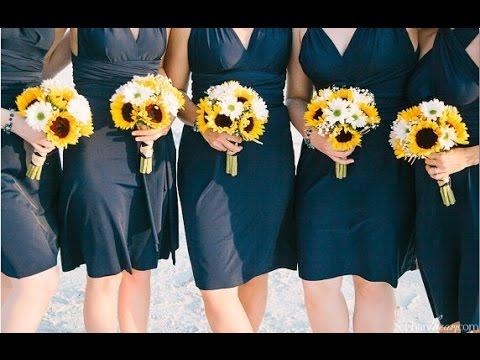 Sunflower daisy wedding bouquet youtube sunflower daisy wedding bouquet junglespirit Images