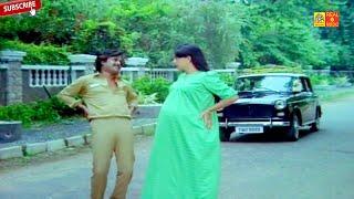 ரஜினிகாந்த் படிக்காதவன் சூப்பர் ஹிட் நகைச்சுவை காமெடி கலாட்டா...#Ambika Funny Video Comedys