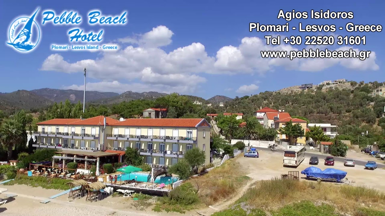 Pebble Beach Hotel Agios Isidoros Plomari Lesvos Greece