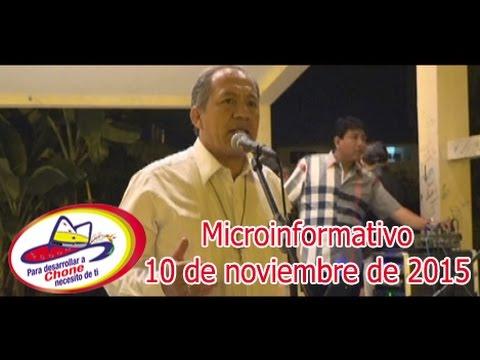 Microinformativo 10 noviembre 2015