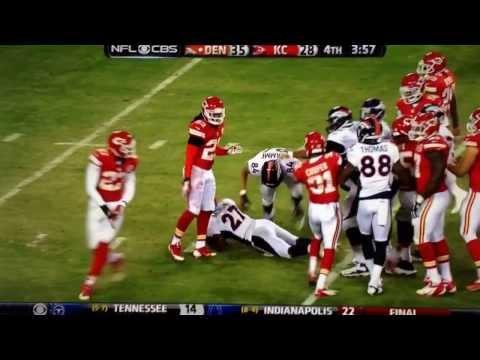 Knowshon Moreno funny crawling after big play