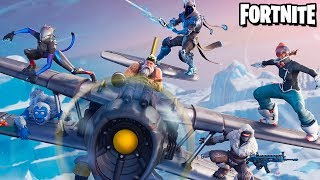 Fortnite-ICE, AIRPLANE, SKINS FOR WEAPONS et PLUS Patch 7.00