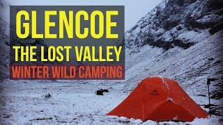 Glencoe, Lost Valley Winter Camp | Jan 2018, On the Adventure Trials Scotland