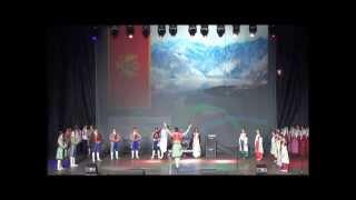 """Folklorni Ansambl """"Crna Gora"""" - Igre iz stare Crne Gore - Bobrujsk, Bjelorusija 2014"""