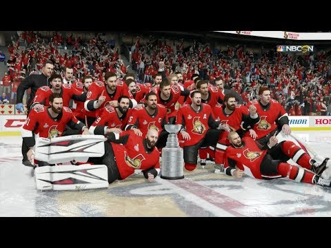 NHL 18 - Ottawa Senators Stanley Cup Celebration