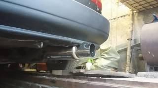 Выхлоп Honda Civic EH-1. Стронгер (awg) +  резонатор (noname) + банка (noname)
