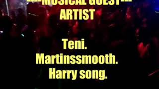 Teni, Martins Smooth & Harry song Live performance @ VGC Aja Lagos