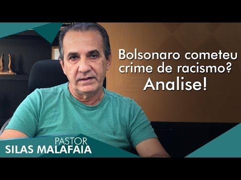 """Silas Malafaia comenta a acusação de racismo contra Bolsonaro: """"Tem vida limpa"""""""