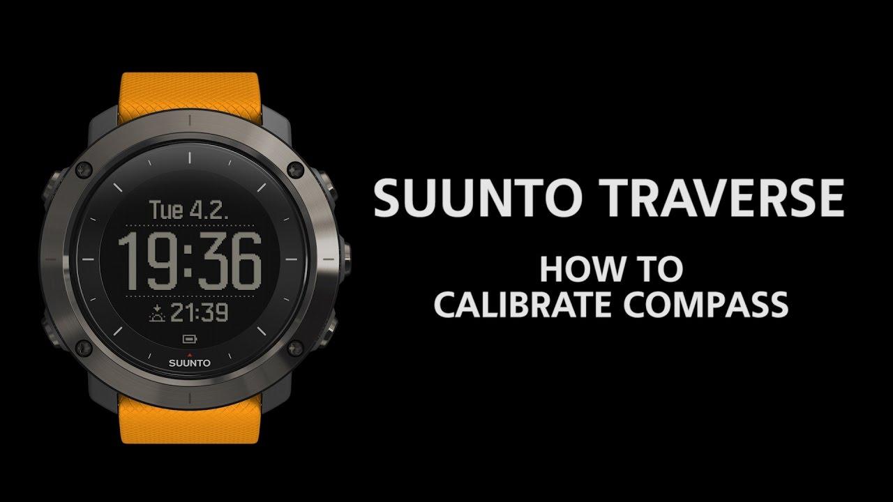 Suunto Traverse - How to calibrate compass - YouTube 17f8baf1708