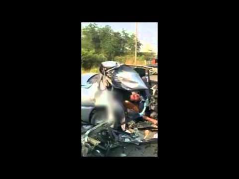 นครสวรรค์! รถเก๋งHonda city ชนท้ายรถ6ล้อเสียชีวิต1ราย