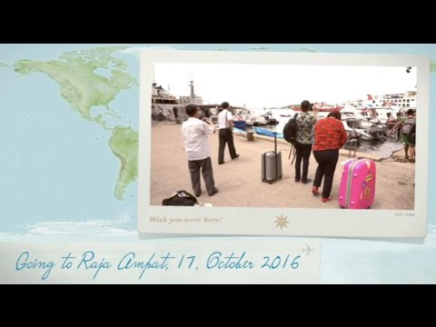 """The 17th International Sesparlu Experience in Sorong and Raja Ampat""  - Travel to Raja Ampat"