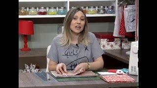 Como fazer um estojo para Tablet de tecido  – 1a parte