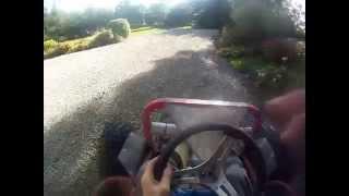 off road go kart with honda gx270 engine