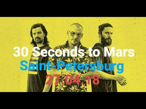30 Seconds to Mars Live 27.04.18 Full Show HD Saint Petersburg Russia