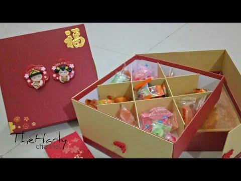 Chinese New Year Prosperity Gift Box two level//Lunar New Year Gift Box//Parcel imlek//Hampers Imlek
