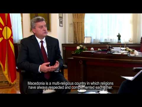 Interview with Dr. Gjorge Ivanov, President of the Republic of Macedonia