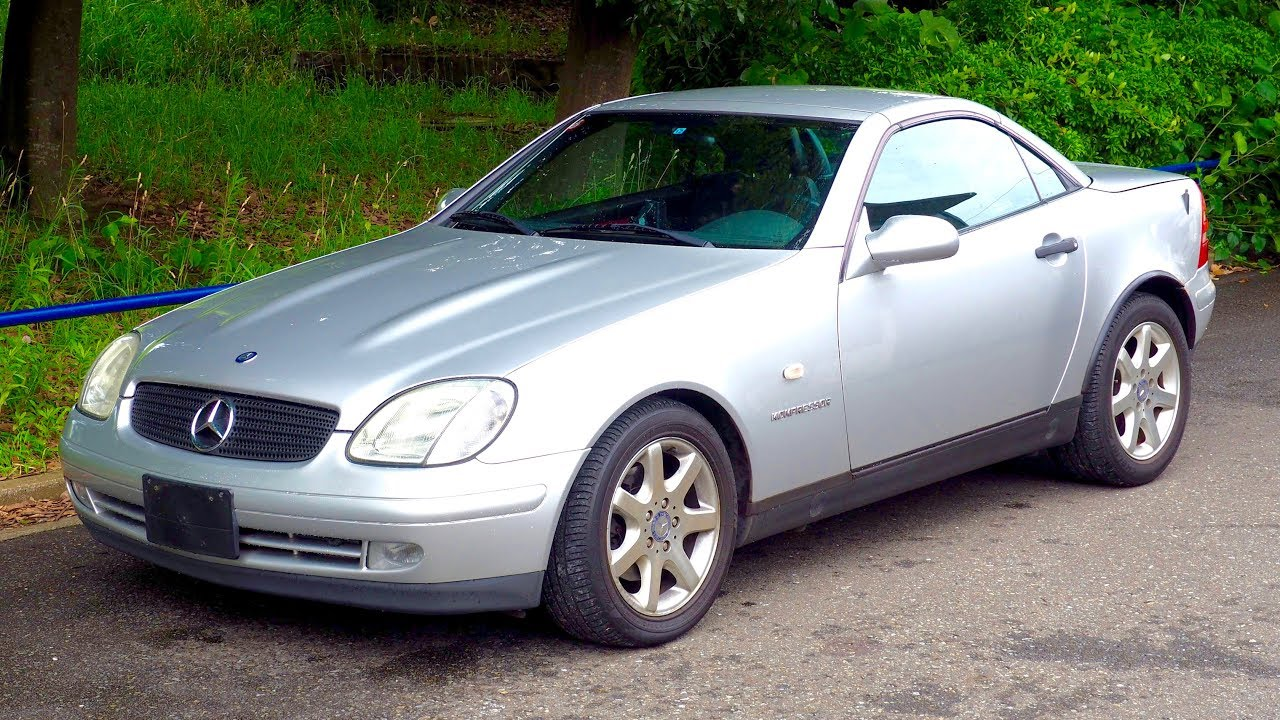 1999 Mercedes Benz Slk230 Convertible Hardtop Canada Import Japan Auction Purchase Review