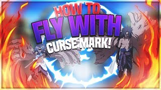 HOW TO FLY WITH CURSE MARK & GATES! | NxB | Naruto RPG: Beyond | ROBLOX