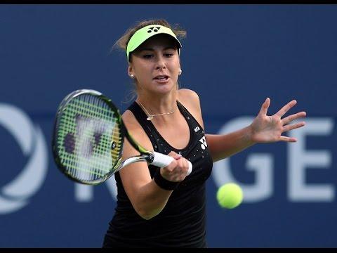 2015 Rogers Cup First Round | Belinda Bencic vs Genie Bouchard | WTA Highlights