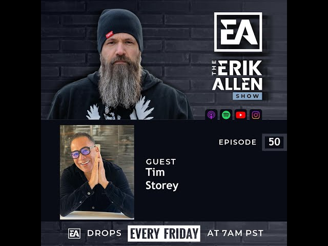 Bearded Biz Show - Ep. 50 - Tim Storey - Author, Motivator Speaker, Life Coach, Worldshaker Network