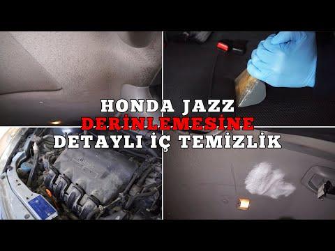 2006 Model Honda Jazz'ın Derinlenmesine İç Temizliğini Yaptık