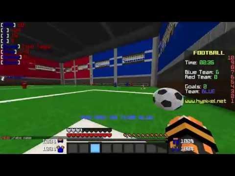 Mega Geil Fußball In Minecraft Minecraft Fußball AdrianHD - Minecraft fubball spielen deutsch