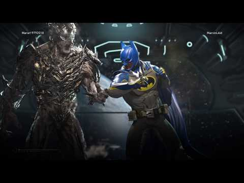 Injustice2 Болотная тварь VS Бэтмен, Онлайн, Swamp Thing VS Batman Online