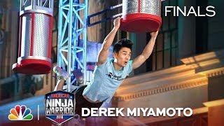 Derek Miyamoto at the Los Angeles City Finals - American Ninja Warrior 2018