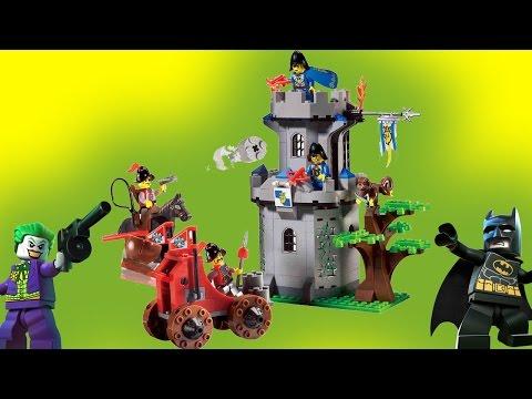 Битва при Майнкрафте. Лего фильм Бэтмен на русском. Видео для детей Лего Бэтмен мультик Lego Batman.