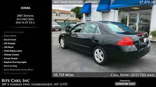 Used 2007 Honda Accord Sdn   Rite Cars, Inc, Lindenhurst, NY