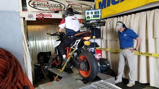 2017 Super Duke 1290R Dyno Run
