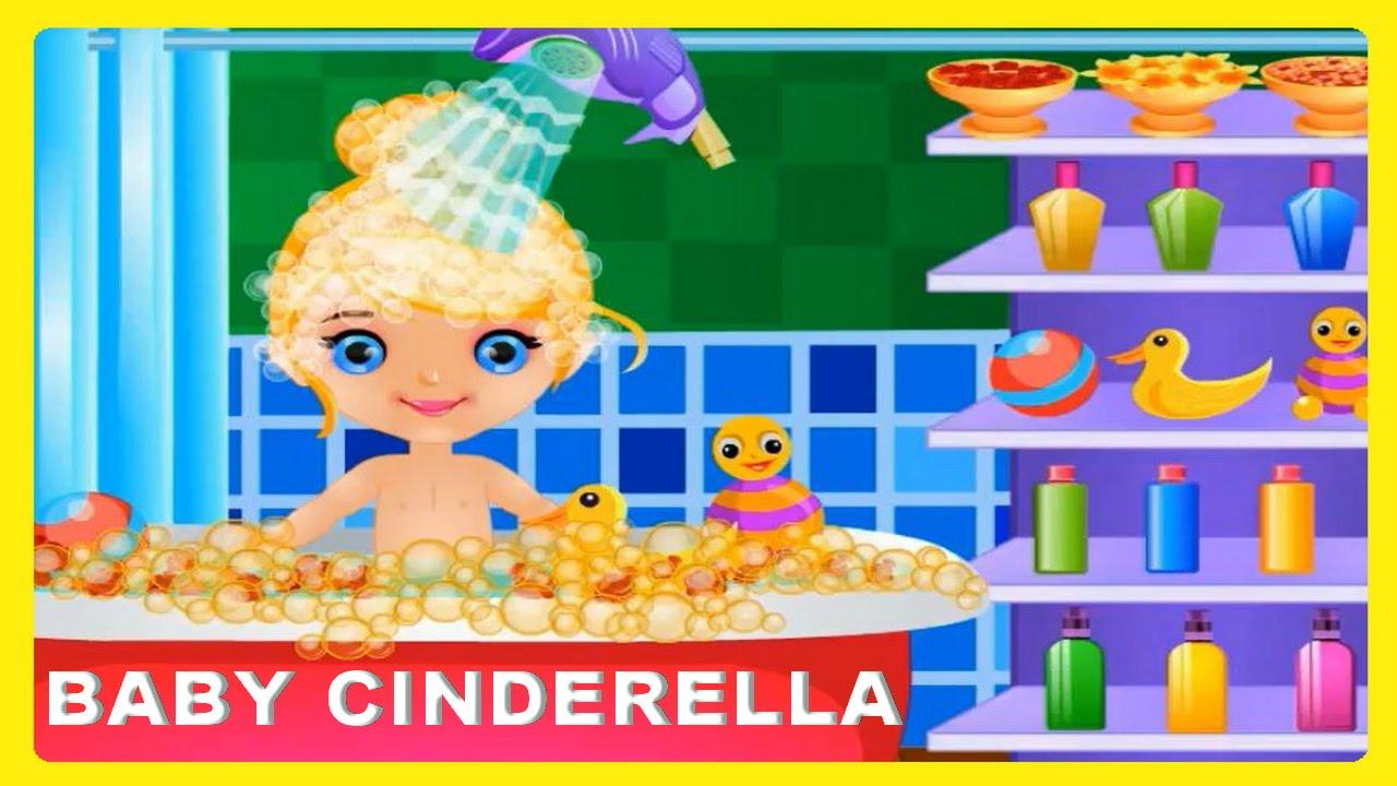 watch and enjoy baby cinderella fun bath new game video fairy tale baby cinderella games online. Black Bedroom Furniture Sets. Home Design Ideas