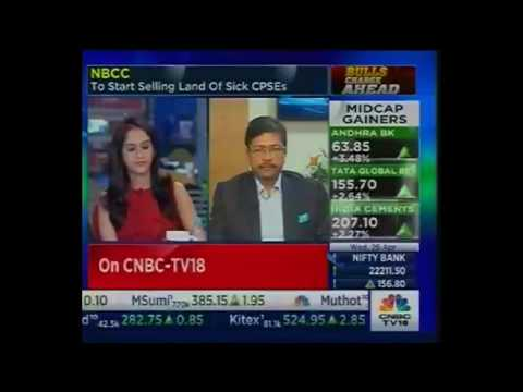 Dr. Anoop Kumar Mittal, CMD, NBCC with CNBC TV18 26.04.2017 TVN 223938