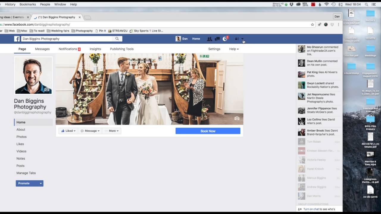 Facebook Advertising For Wedding Photographers