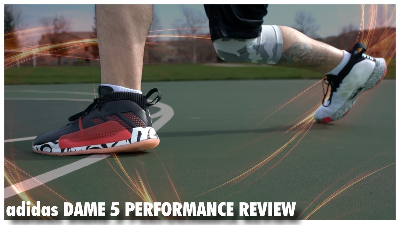 7dcc54aa6e9a adidas Dame 5 Performance Review. WearTesters
