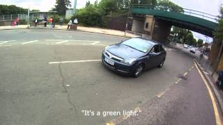 Confrontation with Driver (contains swearing)